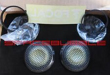 100% New FOCAL pair TKM KEVLAR Tweeter + Pods K2 POWER ES 165 K Audiophile SQ