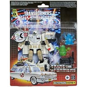 Transformers x Ghostbusters Ectotron Ecto-1 2021 Brand New
