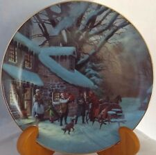 "Collectors Plate WS George 1989 ""The Homecoming"" by Lloyd Garrison Christmas"