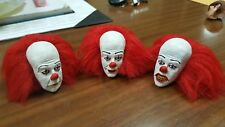 Pennywise the clown from it classic version 3 head set for 12 inch body new root