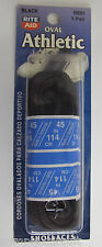 """45"""" Black (OVAL) Athletic Shoelaces R691 Shoe Lace"""