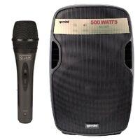 DISCOPIU KARAOKE BUNDLE 801 kit karaoke economico gemini as8p + oqan qmd01 basiq