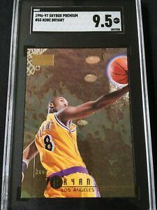 1996-97 Skybox #55 Kobe Bryant Rookie SGC 9.5 Mint Plus