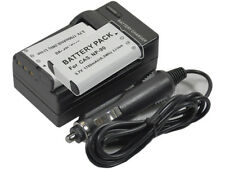 new 2x NP-90 Battery and Charger for Casio EX-FH100 H20GBK H15 H20G H20GBK NP90