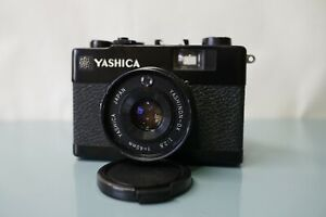 Yashica Electro 35 MC ,Black ,clean, excellent, tested, new seals