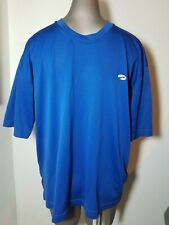 Men'S Brooks Blue Work Out Shirt L Large Fitness