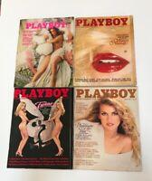 Vintage Playboy Magazine Bundle, Oct 1973, May 1979, Mar 1981, June 1981
