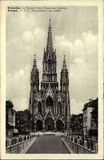 Brüssel Bruxelles 1943 alte Postkarte mit Kriegsbericht-Erstattung rückseitig
