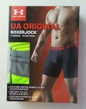 "Under Armour Men's Boxer Brief Small Boxerjock Green Neon 6"" Inseam UA ORIGINAL"