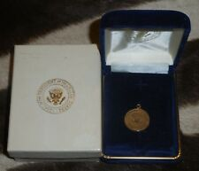 President Clinton 24k Gold Plated VIP Charm