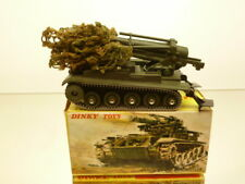 DINKY TOYS 813 CANON DE 155 AUTOMOTEUR - ARMY L10.0cm RARE - VERY GOOD IN BOX