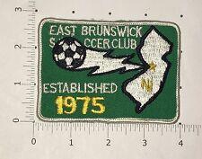 East Brunswick Soccer Club Patch - vintage - New Jersey