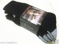 3 pair x Size 6-11 Heavy Duty MERINO Wool Socks Black & Grey (Brand new)