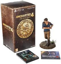 PS4 UNCHARTED 4 LIBERTALIA EDITION NEW BOXED WITH STATUE