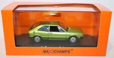 Voitures, camions et fourgons miniatures verts MINICHAMPS pour Volkswagen