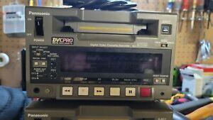 Panasonic DvcPro D250; Player w/tape caddy.