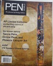 Pen World April 2018 Taccia & Online Pens Phoenix Lacquer Art FREE SHIPPING CB