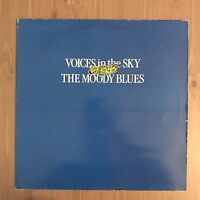 MOODY BLUES Voices In The Sky - The Best Of 1984 UK vinyl LP Greatest Hits