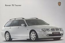 ROVER 75 TOURER KOMBI British Classic Car Prospekt Brochure 2003 66