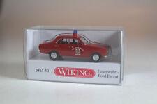 Wiking 086130 Ford Escort Feuerwehr, Neuware. (911)