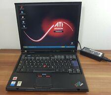 Business Notebook IBM Thinkpad T43 1,86GHz 2GB ATI Radeon X300 Druckerport uvm.