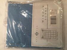 "Window Scarf Richmark Valance Blue Pin Stripe 45"" x 216""  Curtains Thin Stripped"