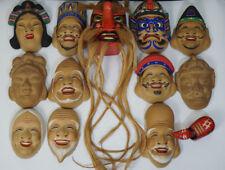 Japanese Old Masks 13pcs / W 18× D 25[cm]