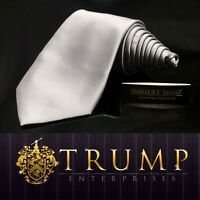 DONALD J. TRUMP~ SIGNATURE COLLECTION Solid Solid  NECKTIE POWER TIE