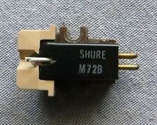 USED Shure M72B Phono Cartridge with 72B Stylus Continuity Test NOT Play Tested