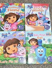 LOT OF 4 STORY READER ME READER Dora The Explorer Books  EUC