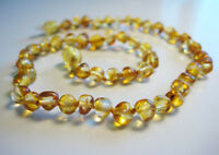 GENUINE BALTIC AMBER BABY NECKLACE - 13 inches