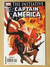 MARVEL Civil War CAPTAIN AMERICA #29 Comic Book THE INITIATIVE 2007 Avengers