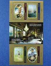 Rumänien Romania 2011 Gemälde Nationalbank Paintings Kunst Art Block 494 MNH