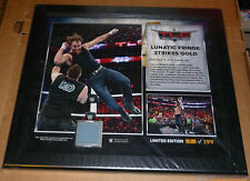 WWE PLAQUE TLC DEAN AMBROSE LUNATIC #9 ONLY 199 IN THE WORLD RARE FRAMED WRESTLE