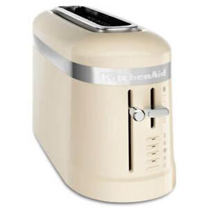 KitchenAid Design Almond Cream 1 Slot Toaster