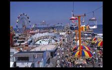 Vintage Amusement Park PHOTO Jersey Shore Boardwalk Beach Circus circa '78 NJ