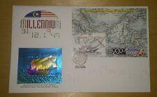 Royal Selangor Premier Niobium Pewter Stamp FDC  - Millennium 1999 The Ship