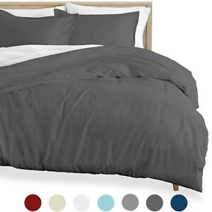 Flannel Duvet Cover and Sham Set, 100% Cotton, Double Brushed Flannel