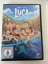 Luca Pixar Disney DVD