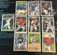 2019 Bowman Heritage Rookie Card RC HUGE 10 Card Lot NO DUPES