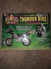 Mighty Morphin Power Rangers Thunder Bike Black Ranger MIB opened complete 1994