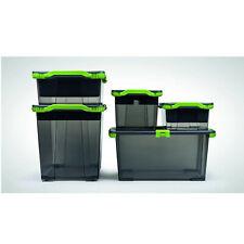 Kunststoffbox Aufbewahrungsbox Plastikorganizer mit Deckel Rotho Evo Total