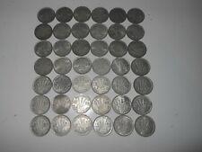 42 bulk silver Australia  Threepence silver coins lot 1945+