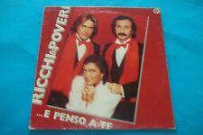 """RICCHI E POVERI  """"... E PENSO A TE """" LP 1981 BABY RECORDS NUOVO"""
