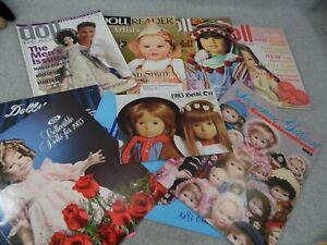 Doll Reader Magazine LOT Barbie Jackie O Neva Russia Dolls Kewpies & Artist Doll
