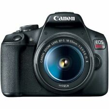 Canon EOS Rebel T7 EF-S 18-55 IS II DSLR Camera Kit with 18-55mm Lens