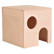 60751 Trixie Wooden Small House Gerbil - Dwarf / Small Hamster - Mice