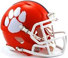 Clemson Tigers Riddell NCAA College Football Team Speed Mini Helmet