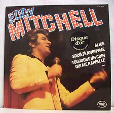 """33T Eddy MITCHELL Vinyle LP 12"""" ALICE - TOUJOURS UN COIN ..- MFP 61.716 F Reduit"""