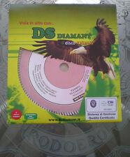 DISCO DIAMANTATO TURBO ROSA K10 DIAM.230 MADE IN ITALY